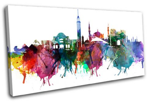 Cairo Watercolour  Abstract City - 13-6035(00B)-SG21-LO